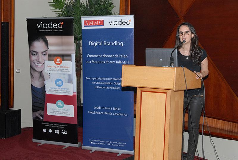 Conférence AMMC-VIADEO :  » Digital Branding : Comment donner de l'élan aux Marques et aux Talents »