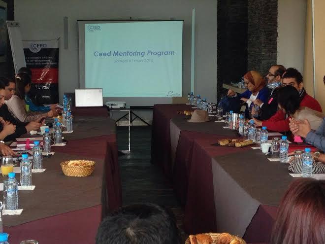 Programme de Mentoring AMMC – CEED: Coup d'envoi!