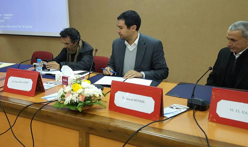 Signature de convention entre l'AMMC et la Faculté de Ben Msik
